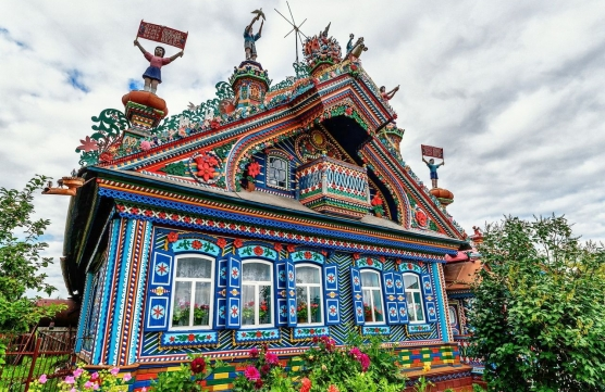 Fabulous Russian villages, which are worth visiting.